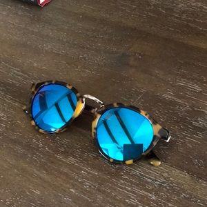 Madewell Indio 48mm round sunglasses